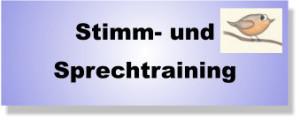 Stimm- und Sprechtraining Lübeck